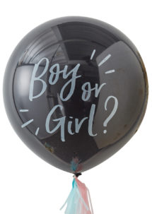 ballon baby shower, ballon baby shower confettis, ballon baby shower révélation fille garçon, Ballon Baby Shower, Révélation Bébé, Confettis