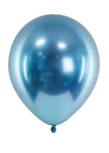 ballon miroir, ballon bleu, ballon bleu, ballon baudruche, ballon décorations, Ballon avec Effet Shiny Miroir, Bleu, x 50 ou x 10