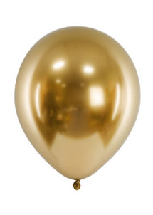 ballon miroir, ballon or, ballon doré, ballon baudruche, ballon décorations, Ballon avec Effet Shiny Miroir, Doré, x 50 ou x 10