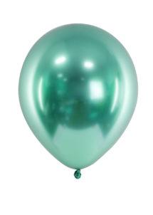 ballon miroir, ballon vert, ballon bleu, ballon baudruche, ballon décorations, Ballon avec Effet Shiny Miroir, Vert, x 50 ou x 10