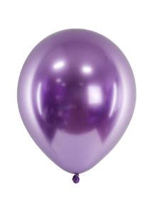 ballon miroir, ballon bleu, ballon violet, ballon baudruche, ballon décorations, Ballon avec Effet Shiny Miroir, Violet, x 50 ou x 10