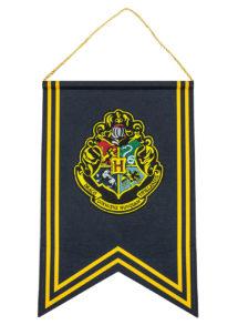 bannière poudlard, décoration Harry Potter, drapeau Harry potter, Bannière de Décoration Harry Potter, Poudlard