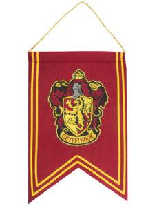 bannière poudlard, décoration Harry Potter, drapeau Harry potter, gryffondor, Bannière de Décoration Harry Potter, Gryffondor