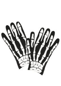gants squelette enfant, gants halloween enfants, gants de squelette, Gants de Squelette et Tête de Mort, Enfant