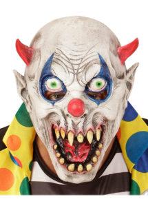 masque clown, masque halloween, masque enfants, Masque de Clown Devil, Kid