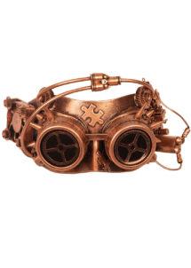 masque steampunk, accessoire steampunk, steampunk halloween, masque steampunk, loup steampunk, Masque Steampunk, Cuivre