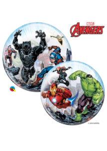ballon bubble, ballon avengers, ballon pour enfants, ballons transparents, ballons boule, Ballon Bubble, Avengers
