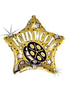 ballon hélium, ballon cinéma Hollywood , ballon étoile, Ballon Cinéma Etoile Hollywood, en Aluminium