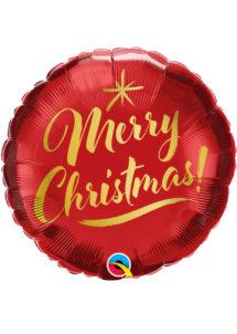 ballon hélium noel, ballon noel, ballon aluminium, ballon merry Christmas, Ballon Noël, Merry Christmas, en Aluminium