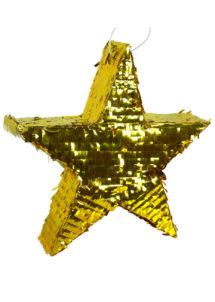 pinata étoile, pinata étoile dorée, pinata pour anniversaire, pinata mexicaine, Pinata, Etoile Dorée