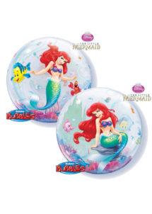 ballon bubble, ballon Disney, ballon la petite sirene, Ballon Bubble, La Petite Sirène