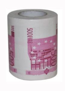 PAPIER-TOILETTE-500-EUROS-224028, Papier Toilette Imprimé Billets de 500 €