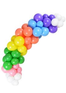arche de ballons multicolores, arches de ballons, décorations ballons, Arche Guirlande de Ballons Arc en Ciel