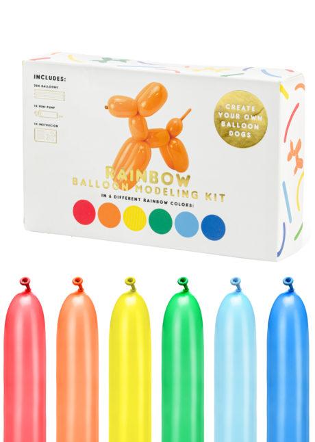 ballons à modeler, ballons à sculpter, ballons enfants, anniversaires enfants, ballons anniversaires enfants, 1 Kit Ballons à Modeler, pour Sculptures de Ballons