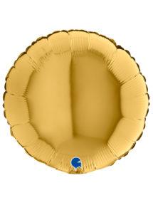 ballon doré, ballon hélium, ballon aluminium, Ballon Rond Doré, en Aluminium