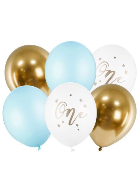 bouquet ballons, anniversaire 1 an, ballons anniversaires, ballons baudruche, ballon héium, ballon anniversaire, 1 Bouquet de Ballons Anniversaire 1 an, Garçon, en Latex