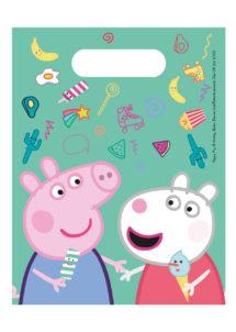 sachets cadeaux Peppa pig, sacs bonbons anniversaires enfants, sachets surprise anniversaires enfants, Sachets Cadeaux Peppa Pig