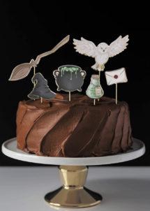 décorations gâteaux sorcier, cake topper Harry Potter, Décoration Gâteaux, Cake Topper, Sorcier