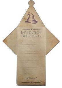 invitations anniversaire, cartes d'invitations, invitations sorciers, Cartes d'Invitations Sorciers