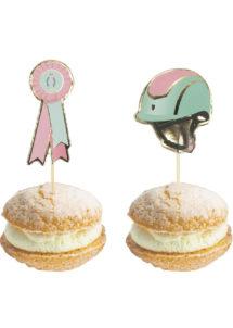 pics apéro cheval, pics cocktail, cupcake cheval, anniversaire fille, Décoration Gâteaux, Pics Apéro, Cheval Lovely Moments