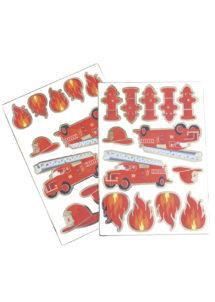 stickers pompiers, autocollants pompiers, stickers pour enfants, Stickers Pompiers, Autocollants