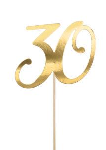 cake topper, décorations gateau, déco pour gâteau 30 ans, Décoration Gâteaux, Cake Topper Anniversaire, 30 Ans
