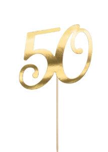 cake topper, décorations gateau, déco pour gâteau 50 ans, Décoration Gâteaux, Cake Topper Anniversaire, 50 Ans