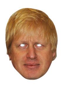 masque boris johnson, masque politique, masques célébrités, thème anglais, Masque Boris Johnson