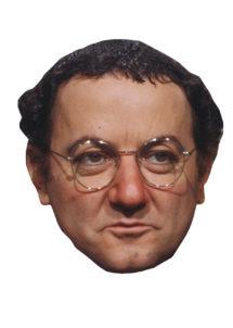masque Coluche, masque célébrités, Masque de Coluche