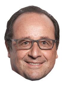 masque François hollande, masque politique, masques célébrités, Masque François Hollande, 2