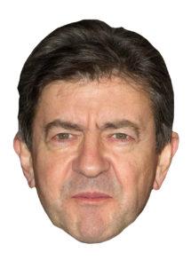 masque jean Luc Mélanchon, masques politiques, masques célébrités, masque Mélanchon, masques politiques cartons, Masque Jean Luc Mélanchon, 2