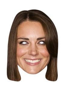 masque Kate Middleton, masque célébrité, Masque Kate Middleton