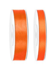 ruban satin, ruban orange, ruban décoration, ruban ballons, Ruban en Satin, 6 mm ou 12 mm, Orange
