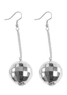 boules disco, bijoux disco, boucles d'oreilles boules à facettes, bijoux boule à facette, Boucles d'Oreilles Boules Disco