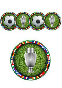 décorations euro 2021, décorations foot, décorations coupe du monde, Décoration Découpes Ballons EURO à Suspendre