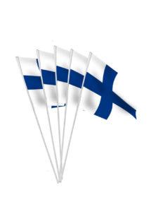 drapeaux de la Finlande, drapeaux Finlande, drapeaux euro, drapeaux finlandais, drapeaux de table, drapeaux à agiter, Drapeau de la Finlande x 10, Drapeaux de Table