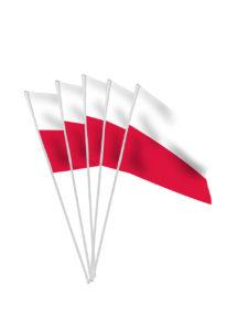 drapeaux de la Pologne, drapeaux polonais, drapeaux euro, drapeau autrichien, drapeaux de table, drapeaux à agiter, Drapeau de la Pologne x 10, Drapeaux de Table
