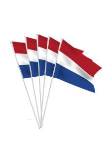 drapeaux des pays bas, drapeaux, drapeaux euro, drapeau hollandais, drapeau pays bas, drapeau de hollande, drapeaux de table, drapeaux à agiter, Drapeau des Pays Bas x 10, Drapeaux de Table