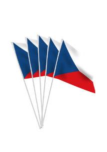 drapeaux République tchèque , drapeaux euro, drapeau hollandais, drapeau république tchèque, drapeaux de table, drapeaux à agiter, Drapeau de la République Tchèque x 10, Drapeaux de Table
