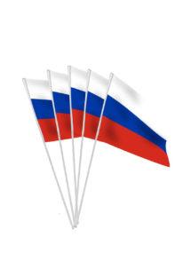 drapeaux de la Russie, drapeaux russe, drapeaux euro, drapeaux de table, drapeaux à agiter, Drapeau de la Russie x 10, Drapeaux de Table