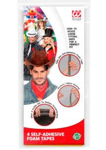 mousse réducteur chapeau, bande ajustement taille chapeau, 4 Bandes de Mousse, Ajustement Taille de Chapeau
