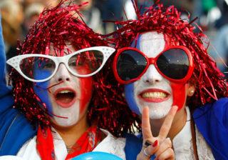 Soirée déguisement déco Supporters, Drapeaux, Fanions
