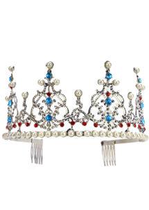 diadème de princesse, couronne de reine, diadème de reine, Couronne de Princesse, Diadème Métal et Perles