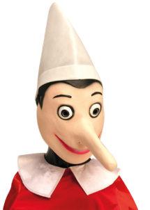 Masque de pinocchio, masque pinocchio, Masque de Pinocchio en Latex