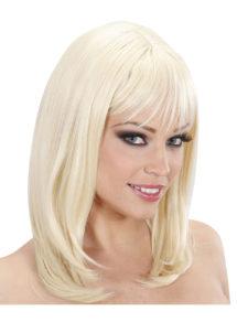 perruque blonde, perruque carré femme, perruque qualité femme, Perruque Ashley, Blonde, Lavable et Stylisable