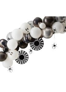 arche ballons halloween, arches de ballons, décorations halloween, ginger ray, Arche Guirlande de Ballons Halloween Spider