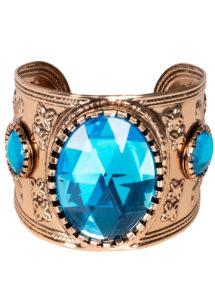 bracelet manchettes, bracelet bronze, bracelets déguisement cleopatre, bijoux cléopatre pas cher, bracelet romain pas cher, bijoux de déguisement pas cher, bracelet ORIENTAL, Bracelet Manchette en Métal Doré, Topaze