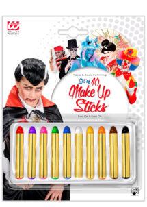 crayons à maquillage, crayon gras à maquillage, crayon gras maquillage, crayon à maquillage déguisement, maquillage déguisement, crayon maquillage halloween, crayon maquillage fête, crayon maquillage gras, palette crayons maquillage, Crayons Gras à Maquillage, x 10