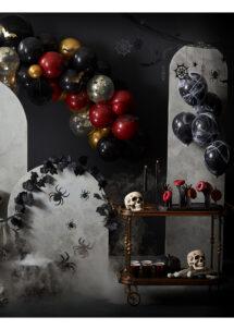 arche ballons halloween, arches de ballons, décorations halloween, ginger ray, Arche Guirlande de Ballons Halloween, Kit Complet