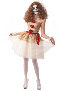 déguisement clown halloween femme, déguisement clown pennywise, costume clown halloween femme, Déguisement Clown Creepy
